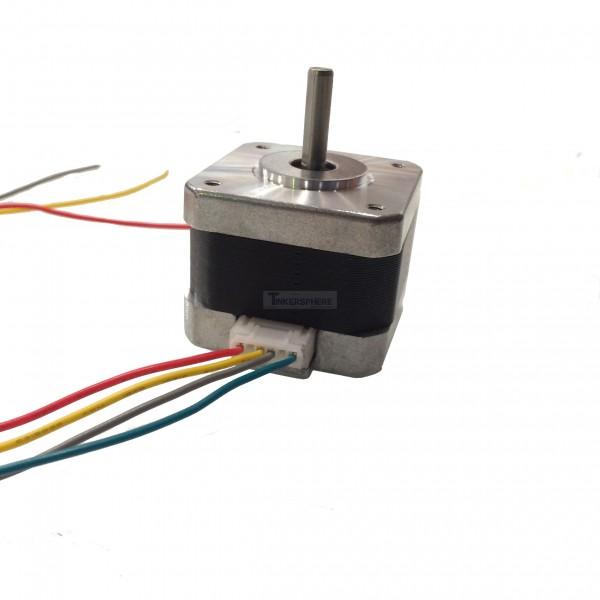 nema 17 stepper motor with detachable wires 4 8v. Black Bedroom Furniture Sets. Home Design Ideas