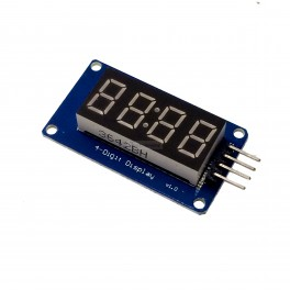 4 Digit Seven Segment Display Module