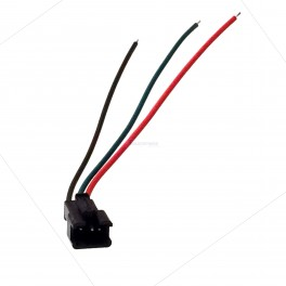 Male 3 pin JST SM Connector (for Programmable LED Strings)