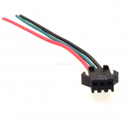 Female 3 pin JST SM Connector (for Programmable LED Strings)