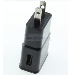 USB Wall Power Adapter - 5V 2A