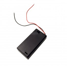 2 AA Battery Holder with ON/OFF switch - 3V