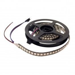 High Speed Addressable RGB LED Strip 144 Pixel - 1m (Dotstar Compatible)