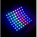 Flexible RGB LED Matrix 8x8