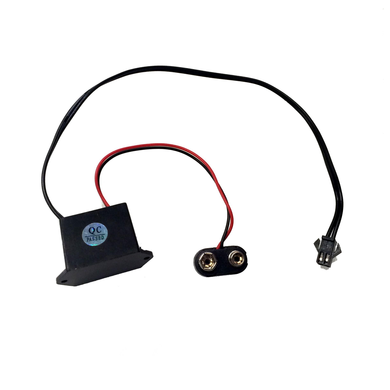1099 El Wire Inverter W 9v Battery Clip Tinkersphere Rgb Led Wiring Diagram