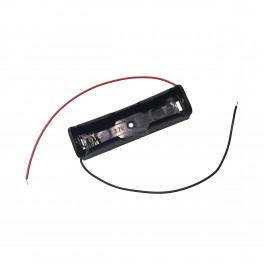Single 18650 Battery Holder with Wires