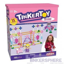 Tinkertoy Pink 150 piece Set