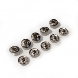 Sewable Metal Snap Buttons 5 pack