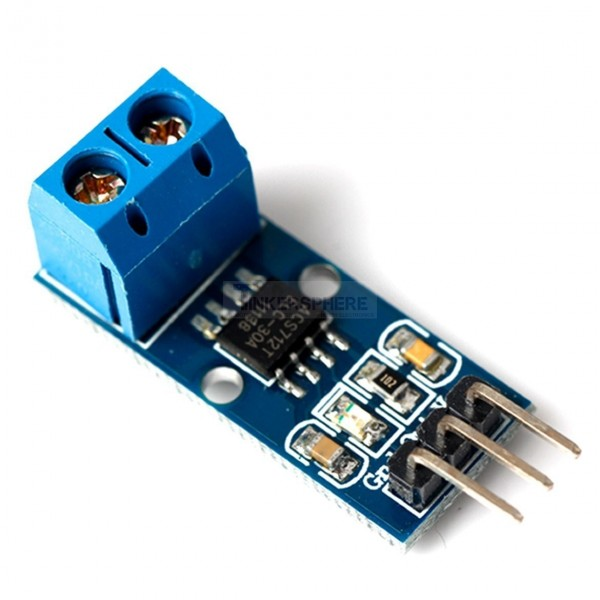 7 99 30a Hall Effect Current Sensor Breakout Acs712