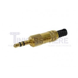 "1/8"" Stereo Gold Plated Plug"