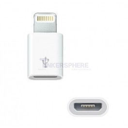 MicroUSB to Lightning Adapter