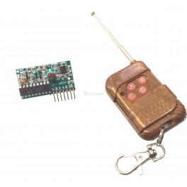 4 Button Remote & Receiver Set