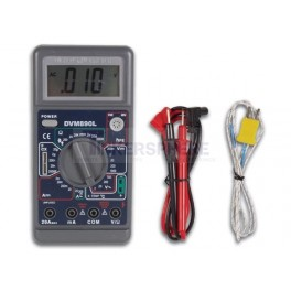 20A 29 Range 3 1/2 Multimeter with Capacitance and Temperature