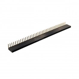 Right Angle Female Header Pins (Row of 40)