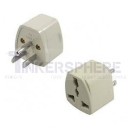UK/AU/EU to US Adapter - 3 Prong