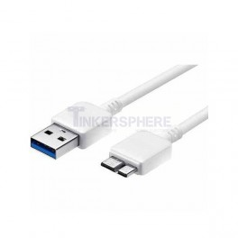 USB 3.0 Cable: A to Micro-B