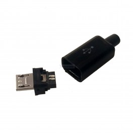 MicroUSB Solder Connector