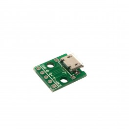 Female MicroUSB Breakout Board