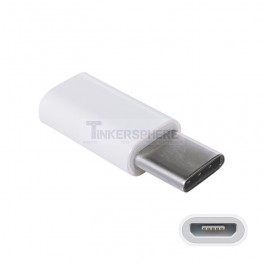 MicroUSB to Type C Adapter