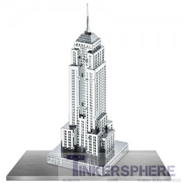 Empire State Building: 3D Steel Laser Cut Model