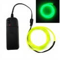 Neon Green EL (Electroluminescent) Wire with Inverter - 3m