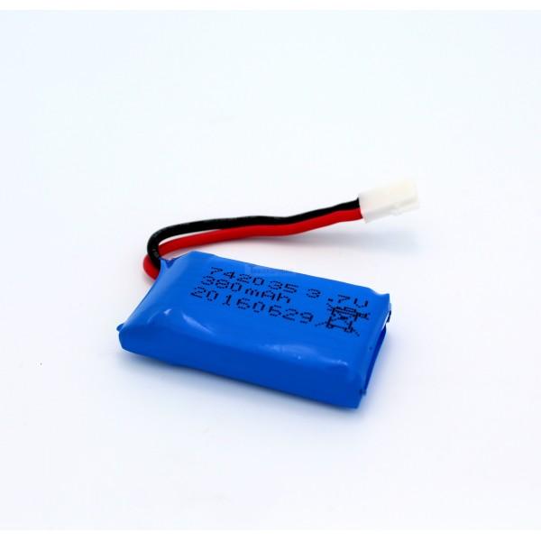 3 7v 380mah Lipo Battery With X4 Battery Charger For: 3.7V Lipo Battery 380mah