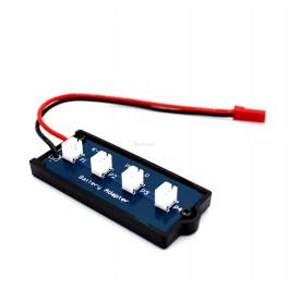 Lipo Battery Splitter 1 JST RCY to 4 JST PH