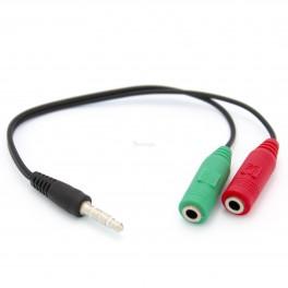 Microphone and Headphone Splitter