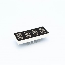 Quad Alphanumeric Display - 17 Segment LEDs