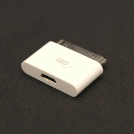 30-pin Dock to Micro USB Adapter for iPhone iPod iPad
