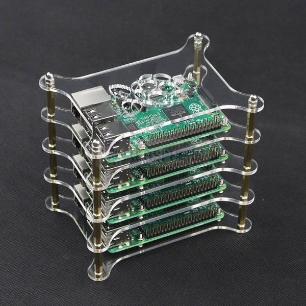 Raspberry Pi Cluster Case (4 Tier)