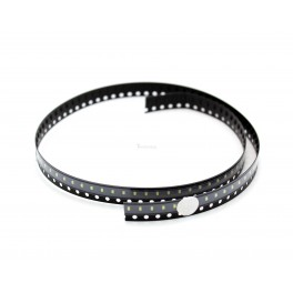 White SMD LED - 0603 (strip of 25)