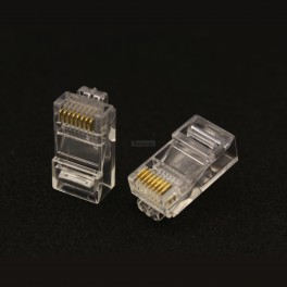 RJ45 Connector for Network Cables (2 pack)