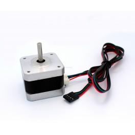 NEMA 17 Stepper Motor with Detachable Wires: 12V