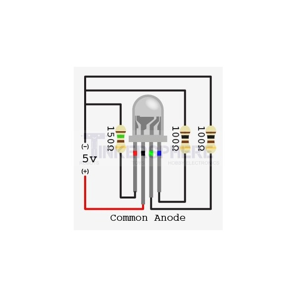 1 69 - jumbo rgb led - 10mm common anode