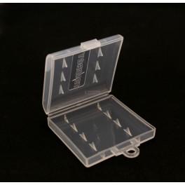 Plastic AA Battery Case