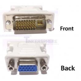 Male DVI to Female VGA Adapter