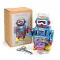 Drumming Tin Robot