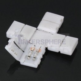 4 Way 2 Pin LED Strip Coupler