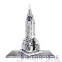 Chrysler Building: 3D Steel Laser Cut Model