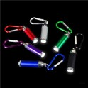 Mini Bullet Flashlight Keychain