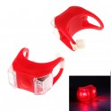 Red Silicone Mount Dual LED Light