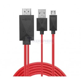 11 pin MHL Micro USB to HDMI Adapter Cable