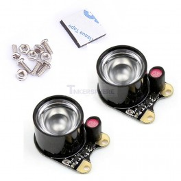 Infrared LED Attachments for Raspberry Pi NoIR Camera (2 pack)