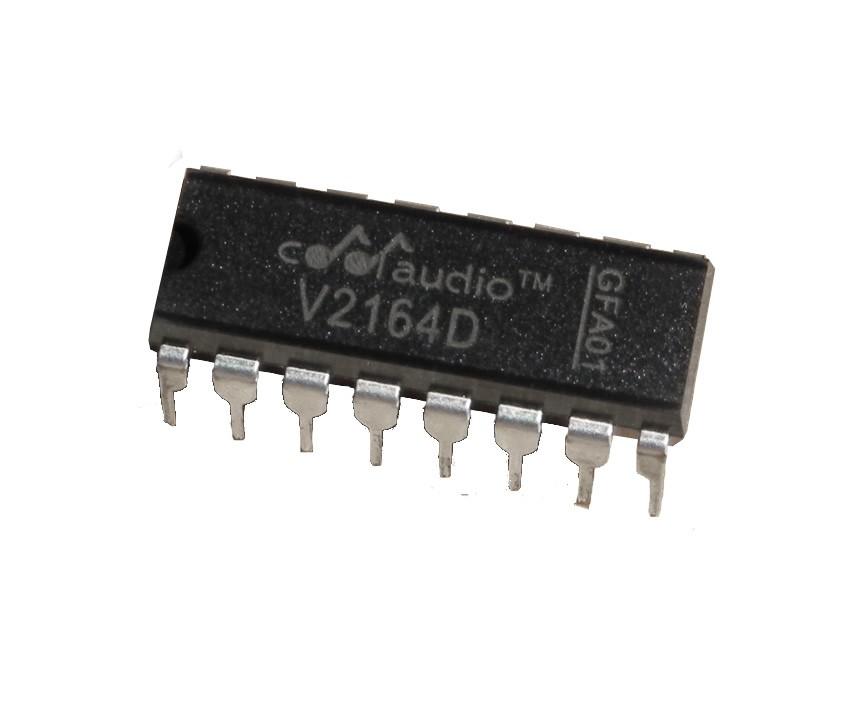 V2164 Quad VCA (Voltage Controlled Amplifier) - Tinkersphere