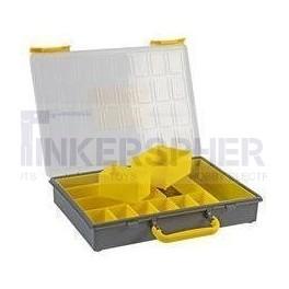 "Electronics Organizer Box - 9.45"" x 7.68"" x 2.17"""