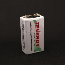 Rechargeable 9V Battery - NiMH 200mah