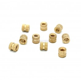 Heat Set Threaded Inserts for 3D Printed Parts (10 pack)