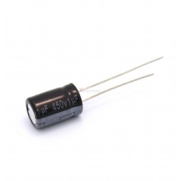 1uF 450V Electrolytic Capacitor