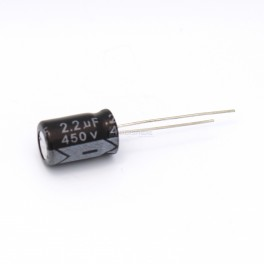 2.2uF 450V Electrolytic Capacitor